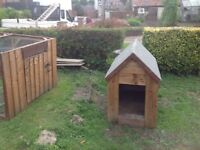 Dog Kennel and Run suit medium size dog like spaniel