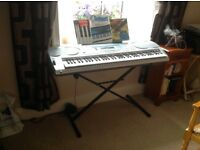 Casio WK 3000 keyboard with stand plus extras excellent condition.