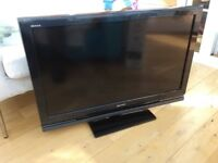 "Sony Bravia television. Not smart. 36"" screen and in great working order."