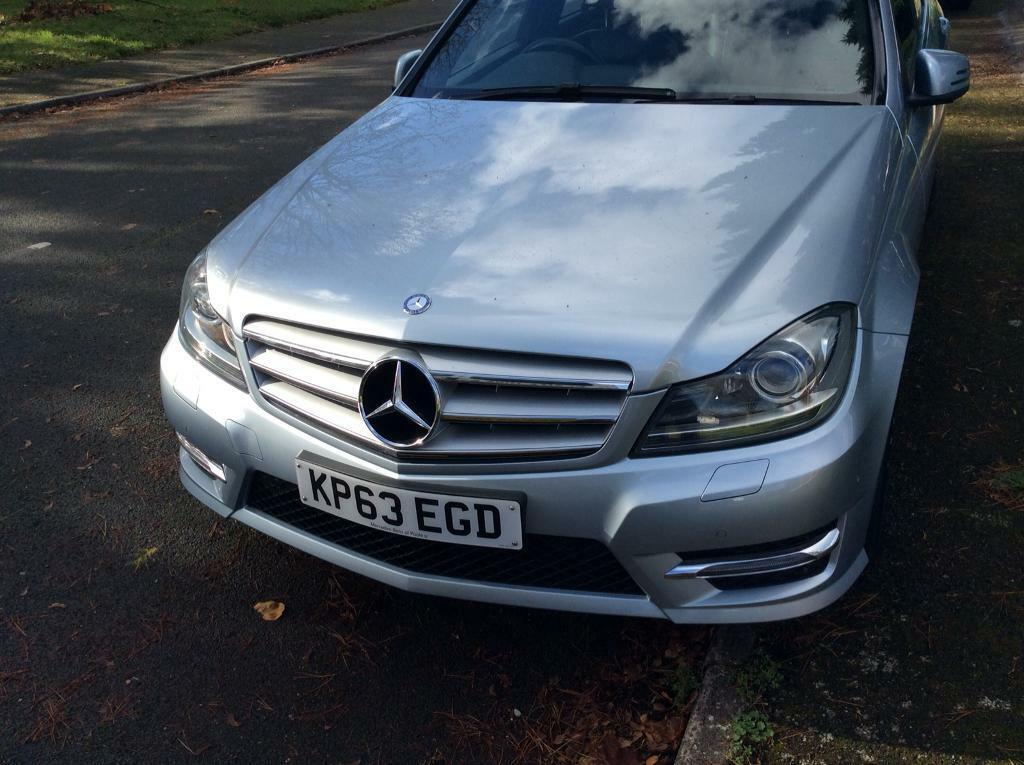 Mercedes C250 CDI Blue Efficiency AMG Sport Plus Diamond Silver
