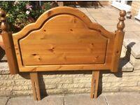 Ducal Single bed Pine Headboard