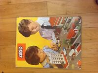 VINTAGE LEGO SYSTEM ROAD MAP BUILDING BOARD TOWN LAYOUT RARE GENUINE OFFICIAL