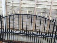 Wrought Iron Fencing and Posts
