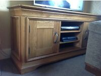 Solid Wood Large TV Unit