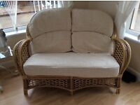 Conservatory 2 seater sofa and two chairs