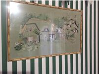 Vintage embroidered photo Gorgeous Country theme