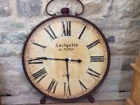 Large Clock - Vintage styled