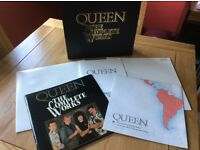 Queen: The Complete Works box set.