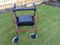 4 wheeler mobility aid for sale, like new