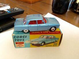 BOXED CORGI 252 ROVER 2000.EXCELLENT.