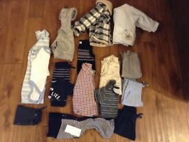 Baby Boy Clothes Bundle (Newborn to 9 months)