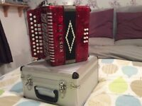 For sale Button keyed accordionn