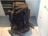 Large heavy duty rucksack (backpack)