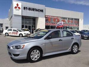 2011 Mitsubishi Lancer DE ** MANUELLE ** VITRE ELECTIQUE **