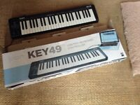 KEY49 keyboard works with your computer range of sounds