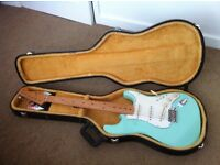 Fender 50s Mexican Stratocaster in Surf Green with Upgrades and Hardcase £390 ONO or Trades