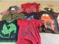 Boys tshirts/ tops x 8