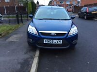 FORD FOCUS 1.6 STYLE TDCI 5DR hatchback diesel manual 2009 full history 6 months mot miles 90000