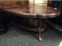 Nice shaped coffee table