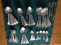 Silver plate original vintage cutlery bundle.