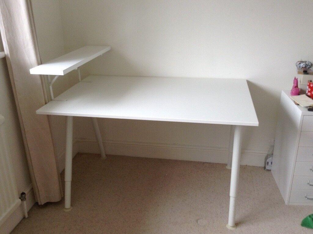 Ikea desk a teenage space for work play hi sugarplum