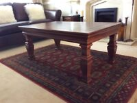 Marks & Spencer Large Solid Wood Coffee Table.