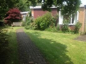 RENT; TWO BEDROOM DETACHED BUNGALOW, BRIDGE CANTERBURY, UNFURNISHED