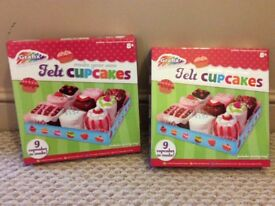 Felt cupcake toy boxed gift sets to make - 2 - Twins