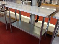 Stainless steel work table 5ft/ 152.5cm - IN134 In Box