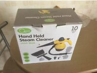 Hand held steam cleaner for cookers showers tiles etc.used twice still in box