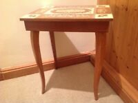 Small Musical Table Jewellery box