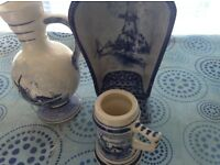 Blue Delft items
