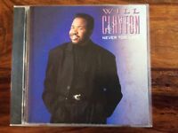 Will Clayton- Never Too Late - CD Album (US Import) 1989