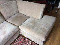 Next Michigan corner sofa. As new