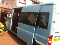 Transit van 280 lwb with large 3D tv and extras
