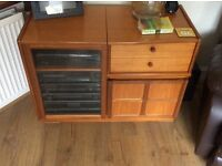 Teak (Nathan) Entertainment/hifi unit for sale