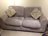 Grey Two seater sofa in good condition