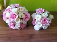 Two stunning wedding bouquets
