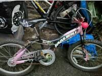 Childrens bikes