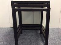 3 Piece Black Coffee Table