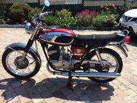 1969 Bridgestone 350 GTR classic bike motorcycle original unmolested project motorbike