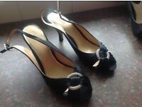 Clarks ladies evening/wedding/cruise shoes. Size 7