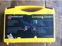 Double lock caravan hitch lock in good working condition. Winterhoff