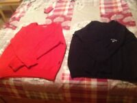 Ping and Callaway men's large golfing jumpers