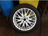 Ford Focus alloy wheel and tyre (one only)