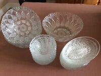 Glass Serving Dishes Collection