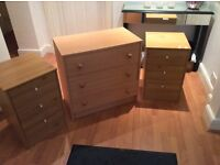 3 X chest of draws, all in ex, cond, can deliver
