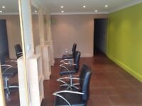 Shop for rent , Glenrothes ( Leslie high street ) set up as barbers / hairdresser or other use