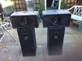 Celestion P A speakers