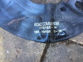 Road master inner tubes for trailers or off road rally